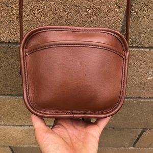 Vintage Coach Hadley Zip Bag 9935